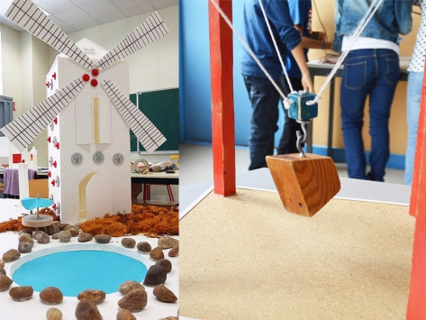 Classe découverte architecture moulin et dynamigrue