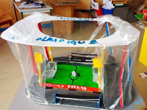 Classe architecture maquette stade de football