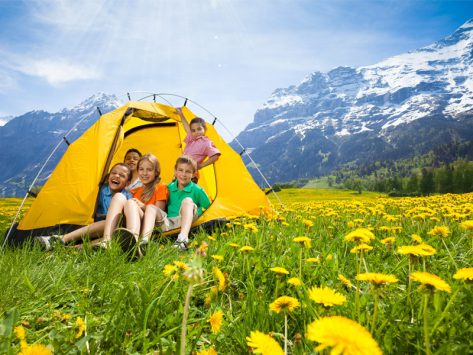 colonie de vacances été montagne