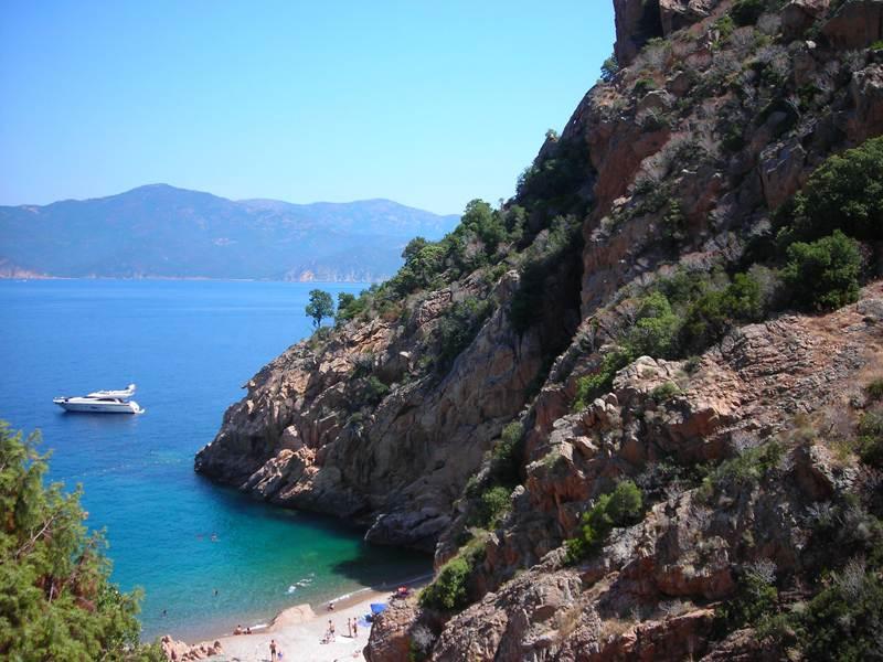 paysage de Corse en colonie de vacances cet été