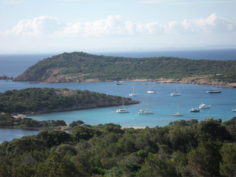 Vue sur la Corse en colonie de vacances d'été pour ados