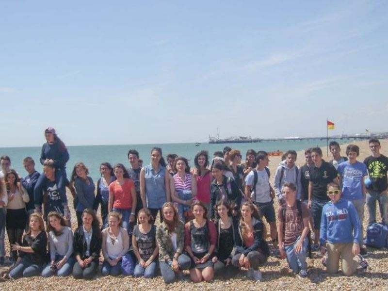 Colonie de vacances adolescents en séjour linguistique à Brighton en Angleterre