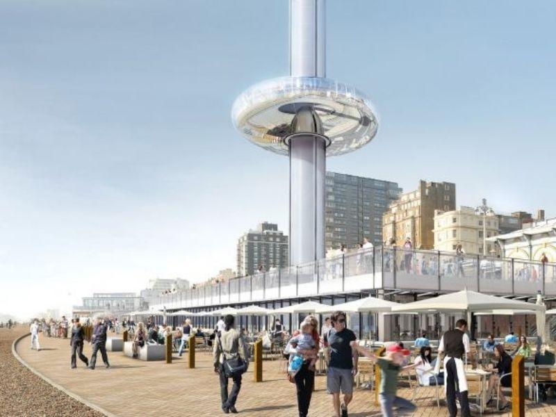 Tour panoramique de Brighton pour un séjour linguistique en Angleterre