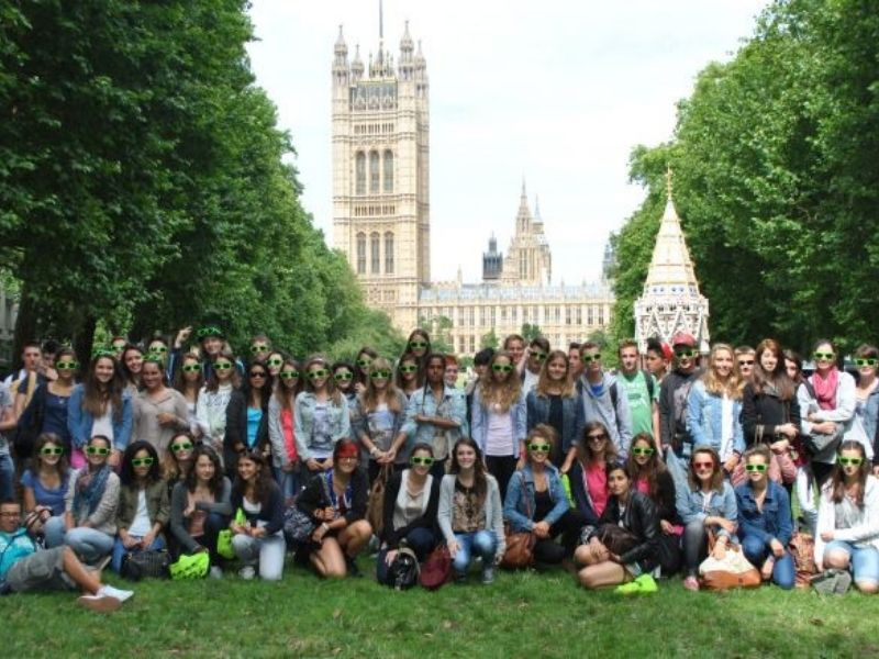 Colonie de vacances adolescents en séjour linguistique à Londres