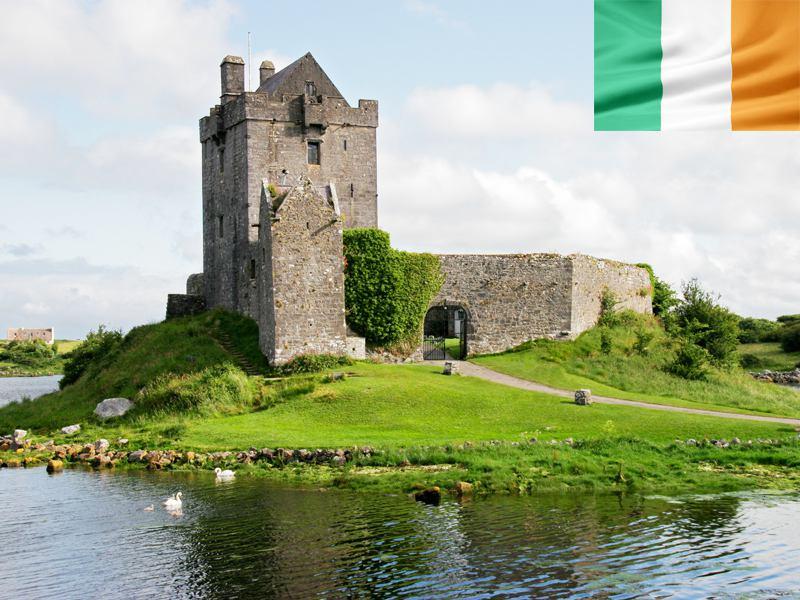 Paysage d'Irlande en colonie de vacances pour ados cet été