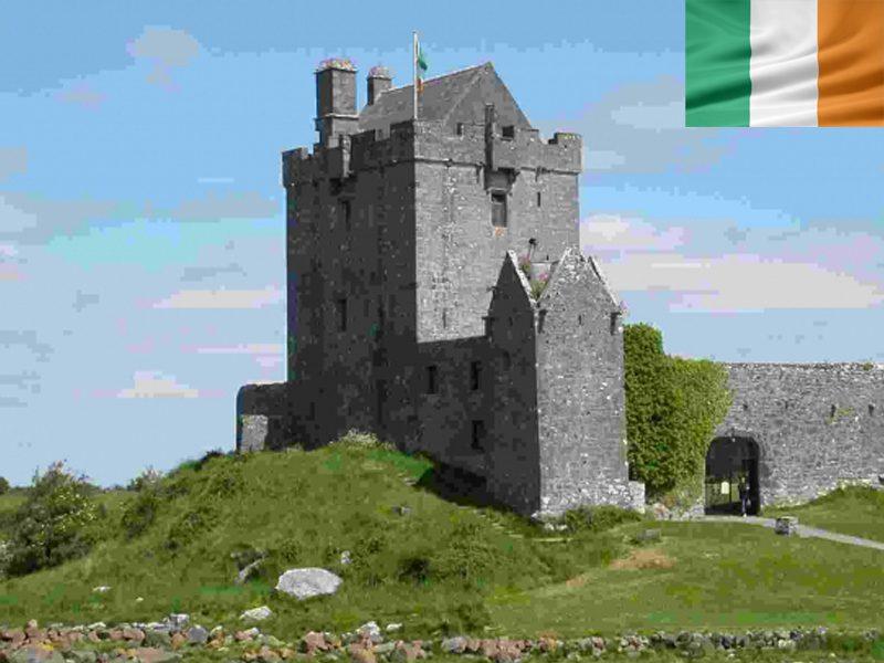 Chateau en Irlande en colonie de vacances cet été