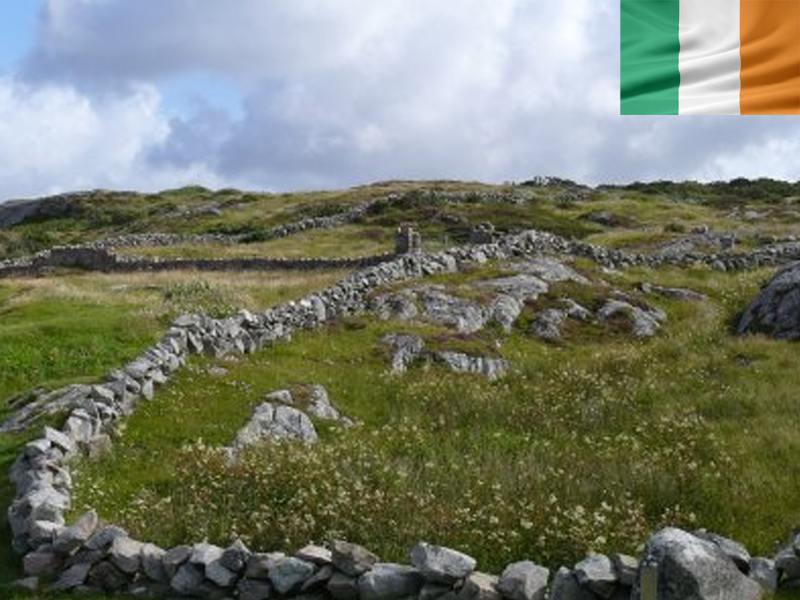 Campagne en Irlande en colonie de vacances d'été pour adolescents