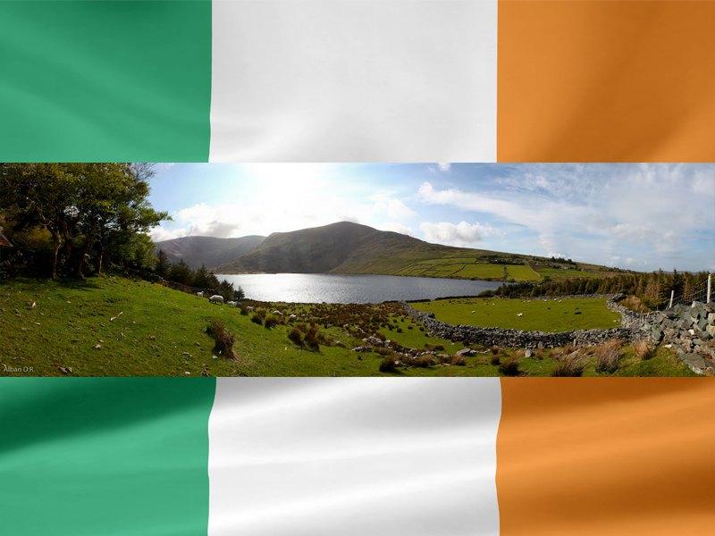 Paysage en Irlande cet été en colonie de vacances pour ados