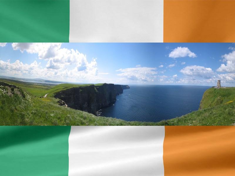 Paysage en Irlande en colo cet été pour adolescents