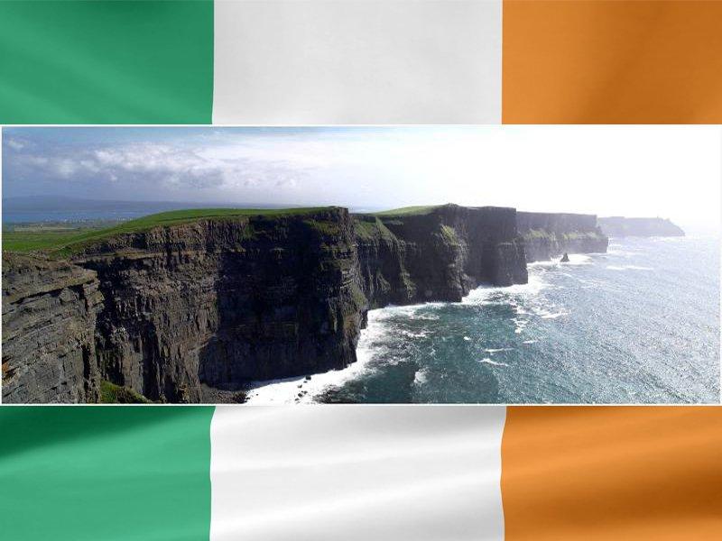 Paysage d'Irlande en colonie de vacances cet été