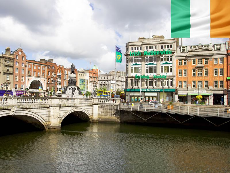 Visiter Dublin en colonie de vacances d'été en Irlande pour ados