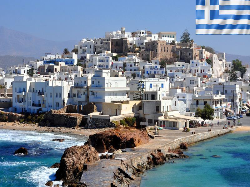 Paysage de colonie de vacances en Grèce cet été pour adolescents