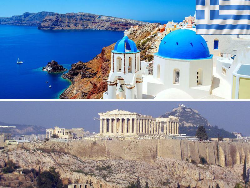 Paysages de Grèce en colonie de vacances cet été pour adolescents