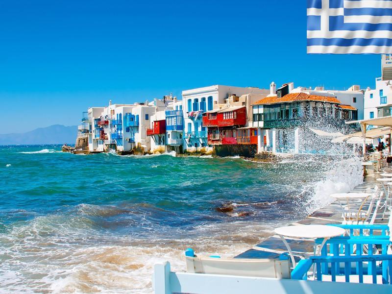 bord de mer en colonie de vacances en Grèce cet été