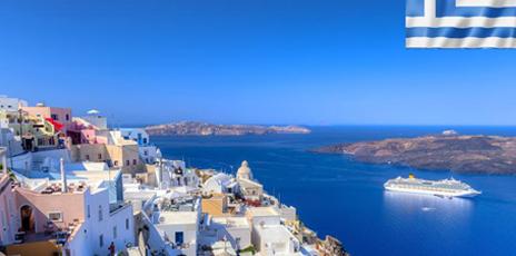 La Grèce et les Cyclades