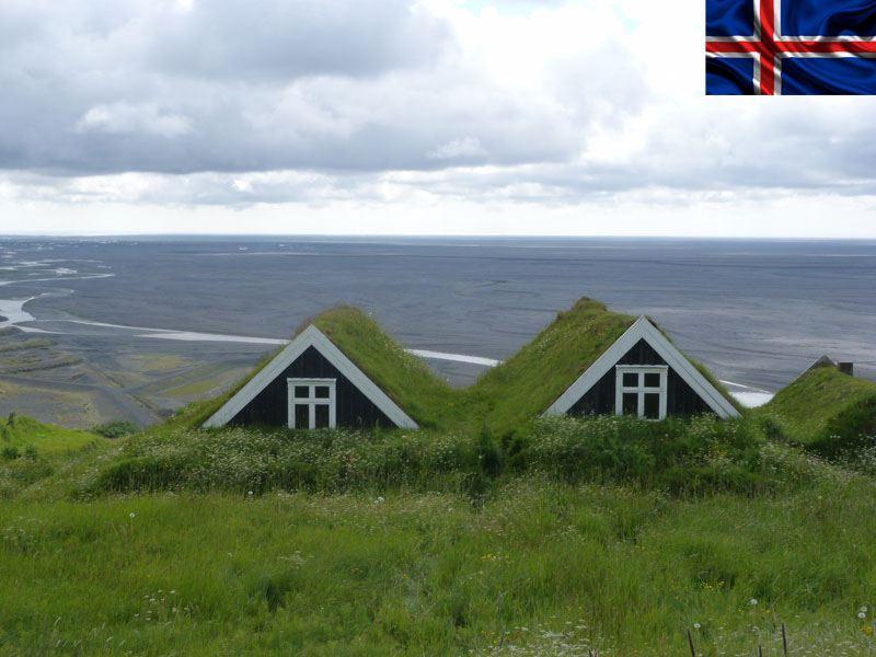 Maisons islandaises en colonie de vacances cet été pour ados et enfants