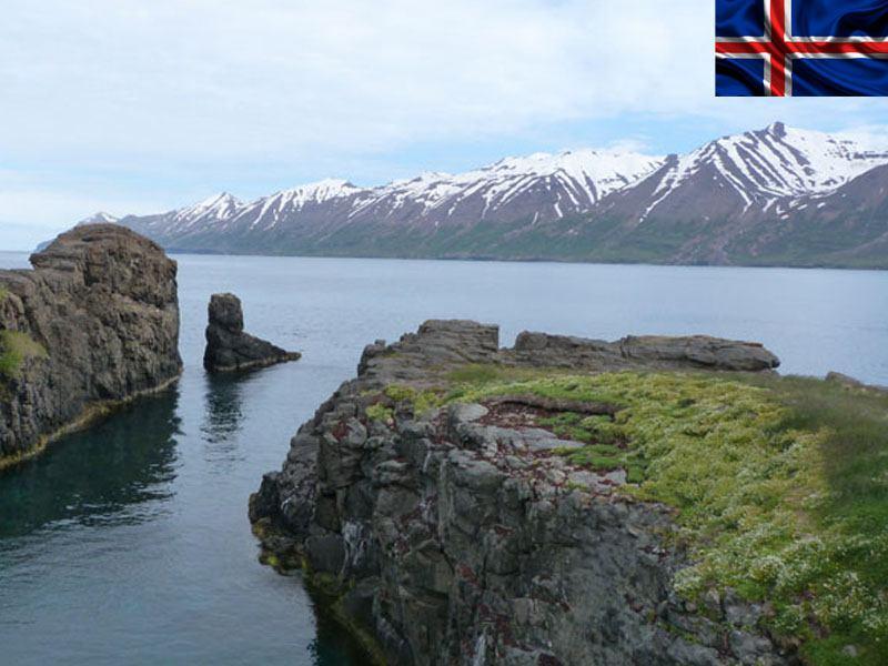 paysage d'Islande en colonie de vacances