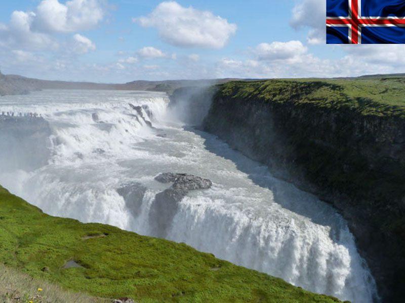 Cascades en Islande en colonie de vacances cet été pour adolescents