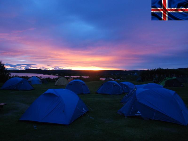 Nuit en bivouac en colonie de vacances en Islande cet été pour ados