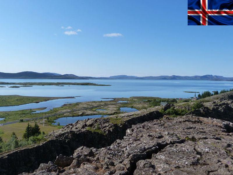 paysage de colonie de vacances pour ados cet été en Islande