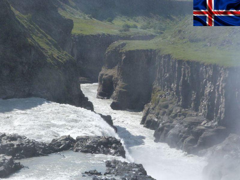 paysage de colonie de vacances en Islande cet été pour ados