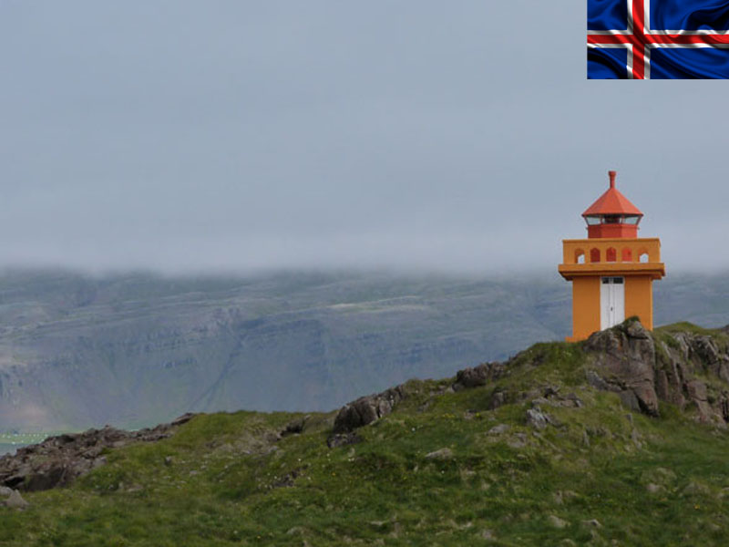 phare en colonie de vacances en Islande cet été