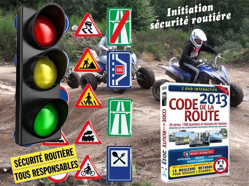 Initiation au code de la route en moto cet été
