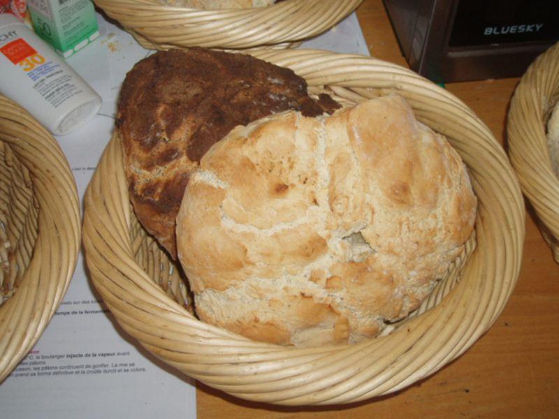 Fabrication de pain en colonie de vacances cuisine pour jeunes enfants été