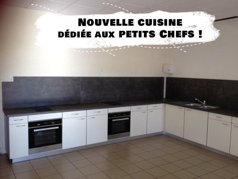 Vue sur la cuisine entièrement équipée pour les colonies de vacances cuisine Djuringa juniors