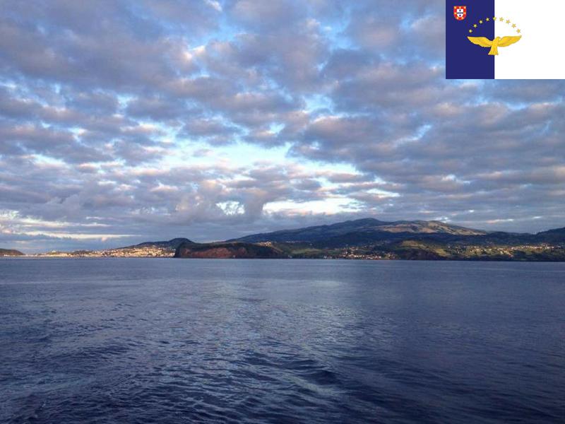 Paysage de colonie de vacances aux Açores pour ados cet été