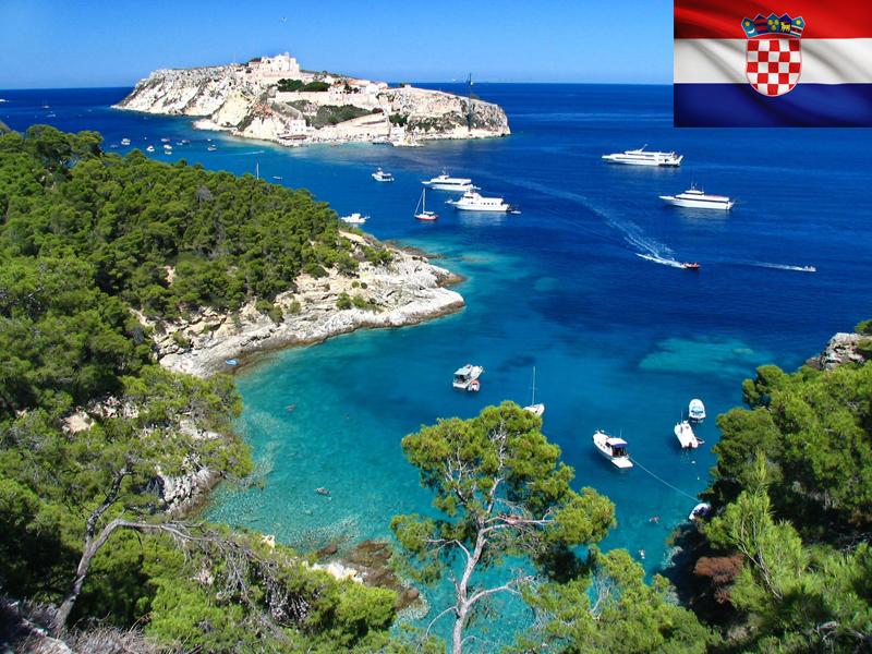 Bord de mer en Croatie ce printemps en colonie de vacances