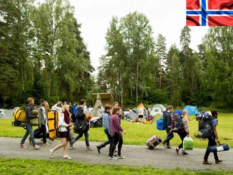 Colonie de vacances en Laponie