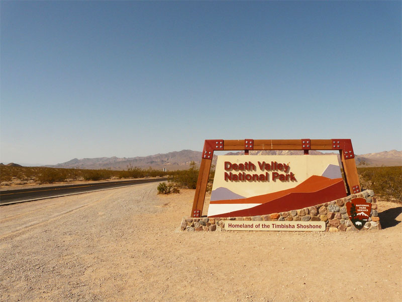 Visite de la Californie ados Vallée de la mort par les ados en colonie de vacances en Californie