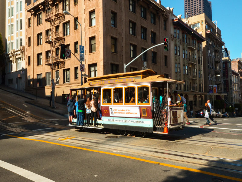 Rues de la californie en colonie de vacances d'été