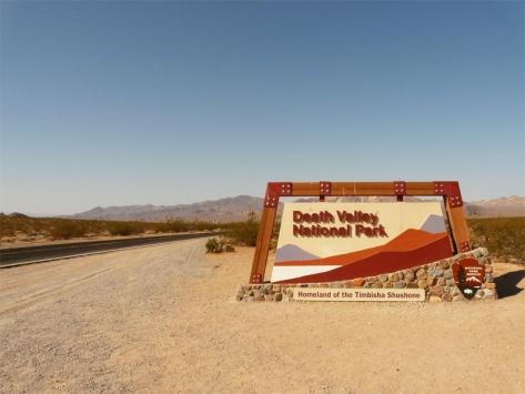 Visiter la Californie ados Vallée de la mort