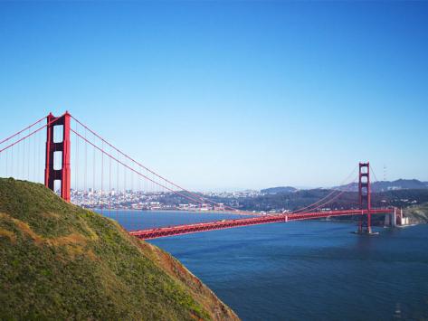 Visiter la Californie en colonie de vacances Golden Gate Bridge