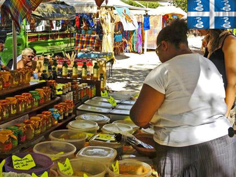 Marché en colonie de vacances en Martinique cet été