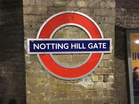 Séjour Angleterre notting hill