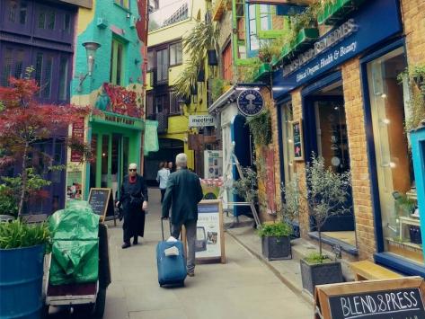 Covent garden séjour à Londres
