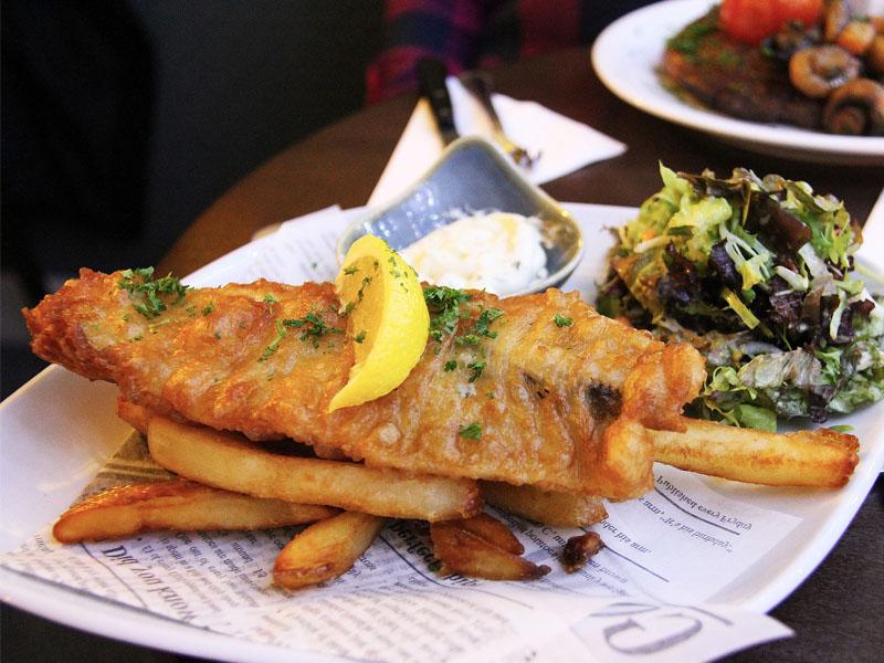 Fish&Chips de Londres en Angleterre
