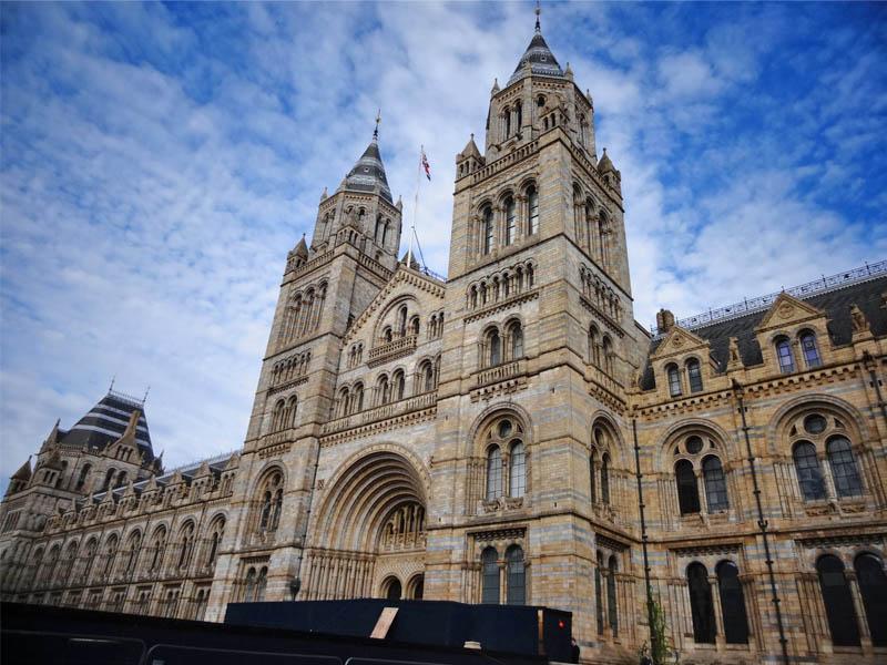 Musée d'histoire naturelle de Londres en Angleterre
