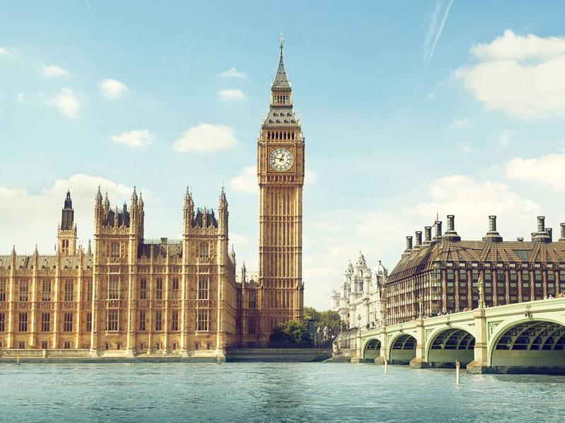 Le Big Ben en pleine journée