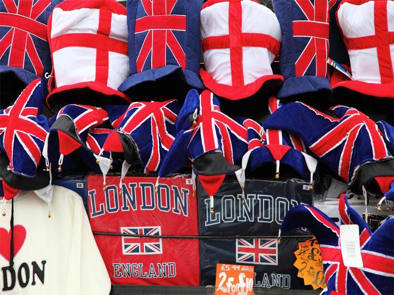 Magasin de souvenirs de Londres en Angleterre