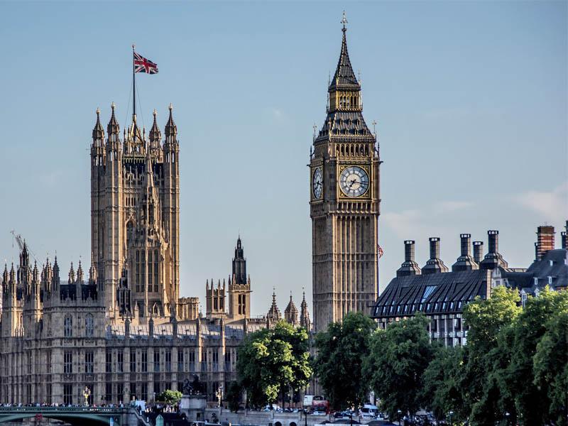 Parlement de Londres et le Big Ben en Angleterre