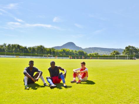 Stage sportif foot en Auvergne pour l'été