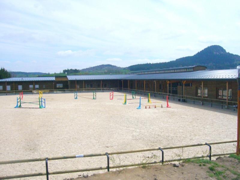 Centre équestre stage d'équitation été Auvergne
