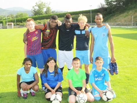 Stage de sport football