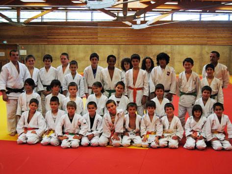 Stage judo sportif