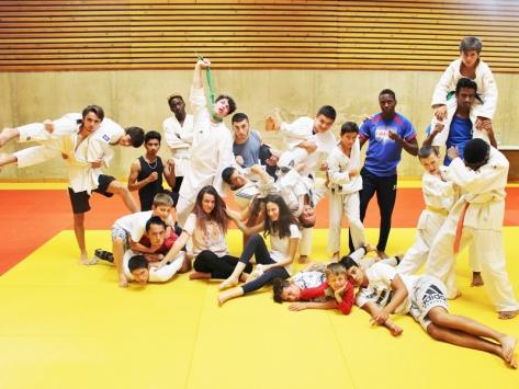 Stage sportif de judo
