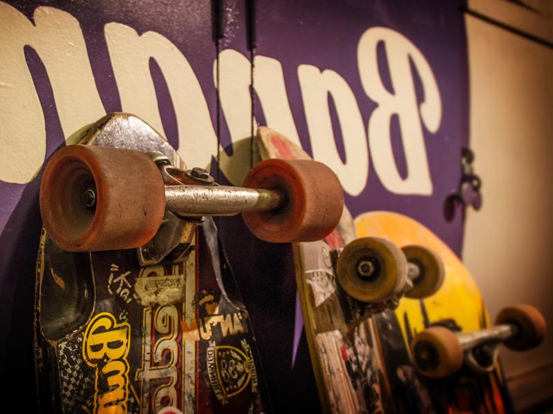 Skateboard de stages sportifs et colonies de vacances d'été